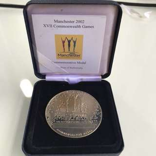 manchester 2002 commonwealth games commemorative medal(L1R1B-B)