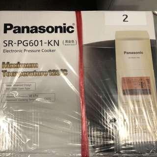 全新Panasonic萬用煲 (SR-PG601-KN)