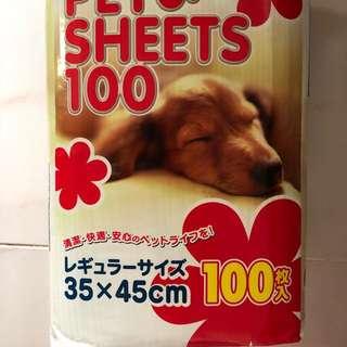 BN Pee Pad sheets