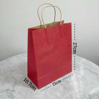 Plain Paper Gift Bags