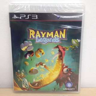(Brand New) PS3 Rayman Legends / R3