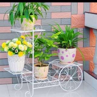 Flower rack shelve stand