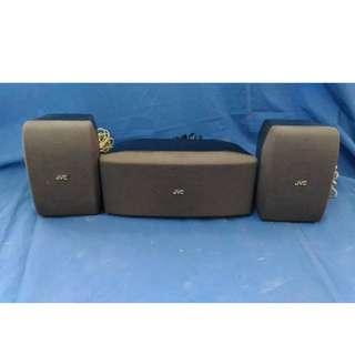 JVC Center Speaker (Model No. SP-DSC90) & Surround Speaker (Model No. SP-DSS90)