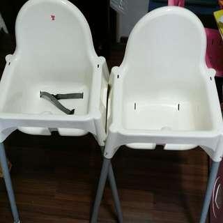 Ikea High Chair $9