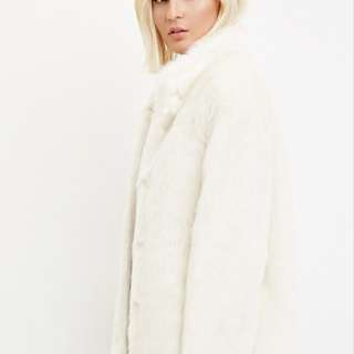 Forever 21 Faux Fur Coat