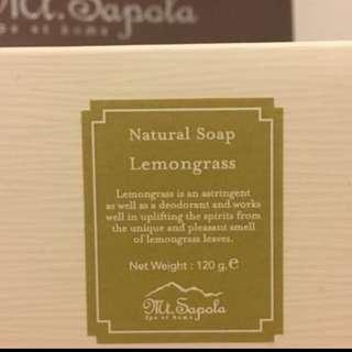 🈹 Last 2 (最後兩件)Mt Sapola Rosemary Natural Soap $20@ (expiry 2017)