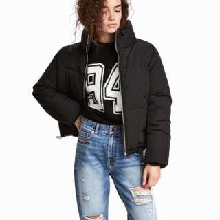 H&M padded puffer jacket