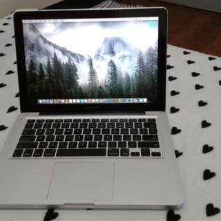 Macbook Pro 4gb 128ssd core 2 duo