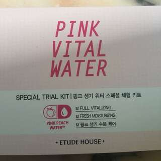 Pink vital water