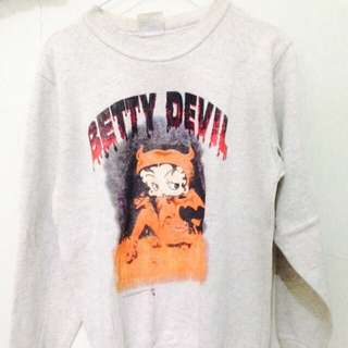 SALE BETTY DEVIL SWEATER