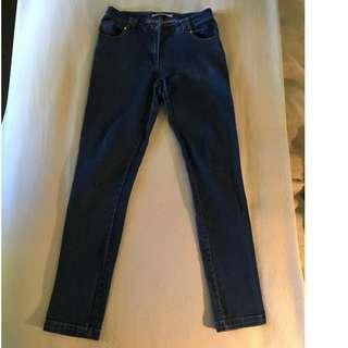 Madame Hawke high-waisted stretch denim jeans
