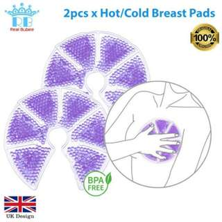 FREE POS Ready Stock Real Bubee Hot Cold Therapy Heat Pad Breast Pump (2pcs)