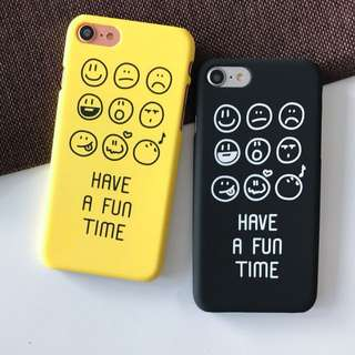 SMILE FACE IPHONE CASE