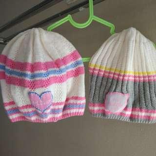 Topi kupluk baby girl