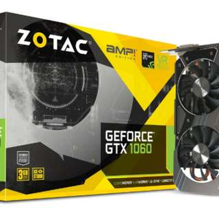 Zotac GTX 1060 A.M.P 3GB DDR5