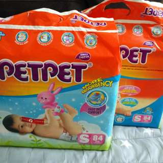 Pet Pet Pampers Size S 84