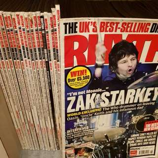 Rhythm and modern drummer magazines