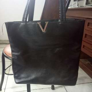 Tas shoulder bag hitam