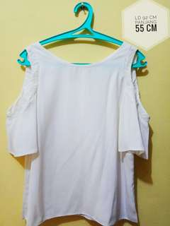 Sleeve top white