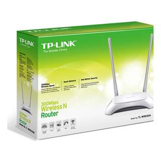 TP-Link 300Mbps Wireless N Router - WR841N/TL-WR840N