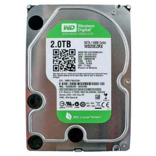 WD Green 2TB HDD