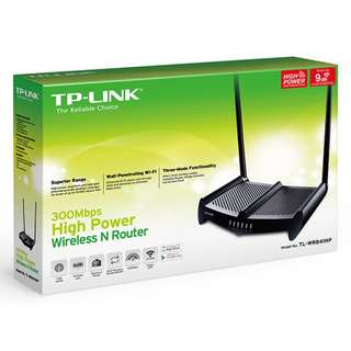 TP-Link 300Mbps High Power Wireless N Router - TL-WR841HP