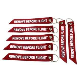 Remove before flight 鎖匙扣 起飛前請移取