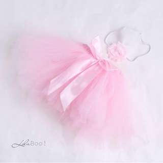 Baby Tutu Skirt Set - Soft Pink