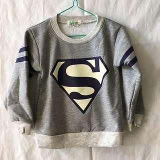 男童 超人Tops
