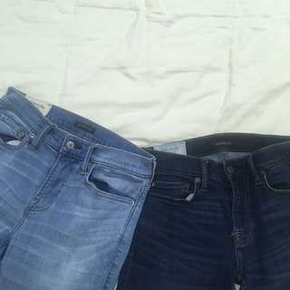 2 FOR P800 ONLY!! Abercrombie and Fitch Skinny Jean