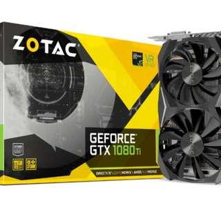 Zotac GTX 1080 Ti Mini 11GB GDDR5