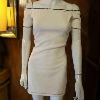 lettuce offshoulder dress