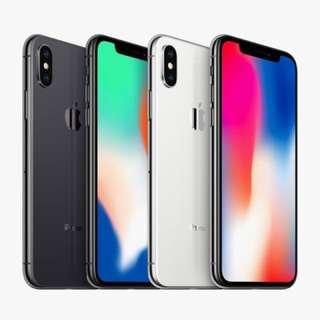 全新未開封港行 iPhoneX, 8, 8Plus