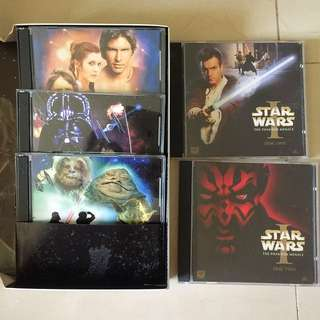 50% Off Original Star Wars VCD 📀 Collection Set