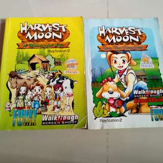 Harvest moon book