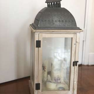 Wooden Antique Candle Holder 木造蠟燭台
