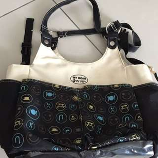 Mydear Baby Bag with lots of large compartments