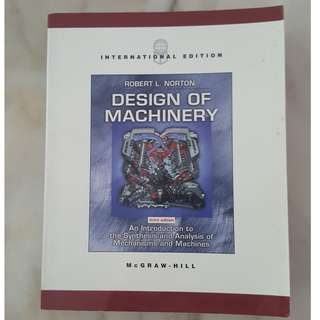Design of Machinery : 3rd Edition