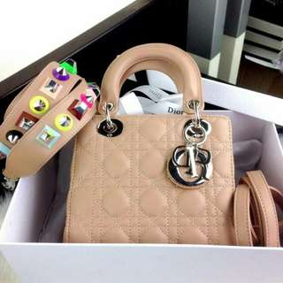 """Christian Dior Lady Cruise Shw with Pyramid Multi Strap """"Special Edition"""""""