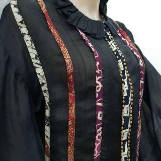 Tunic Batik Hitam