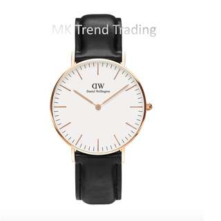 [AUTHENTIC] DANIEL WELLINGTON CLASSIC SHEFFIELD ROSE GOLD 36MM [2 YEARS WARRANTY]
