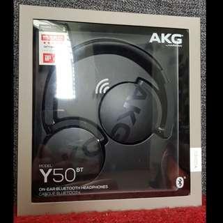 AKG Y50BT Headphone Black (Brand New)