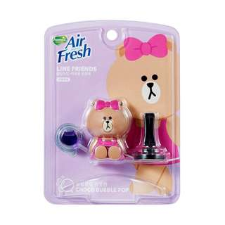 LINE FRIENDS CHOCO Air Freshener for Car clip type