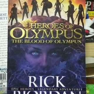 Novel Heroes of Olympus by Rick Riordan