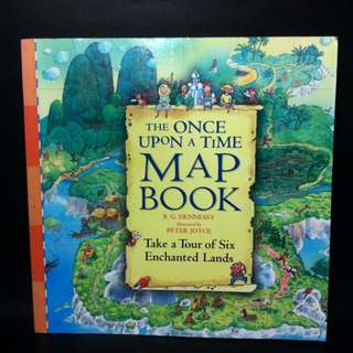 Once A Upon A Time Map Book