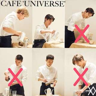 EXO Universe Poster 伯賢/Sehun/ Chen