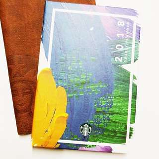 Starbucks Planner 2018 - small (planner and stencil only)