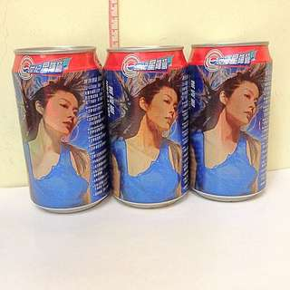 百事可樂 陳慧琳紀念罐 3個👍🏻收藏品 PEPSI