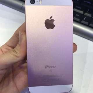 Iphone SE 16Gb 玫瑰金 ,功能一切正常,機身新正。