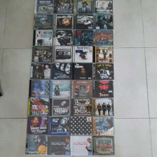 Snoop dogg related CDS very rare collections of 36 hard to find and out of print cds, Dr dre, Eastsidaz, 2pac, Dogg pound, Death Row, Ice Cube, westside connection